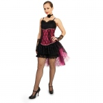 Can Can Adult Costume - Medium