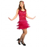 20's Vintage Inspired Flapper Adult Costume - X-Large