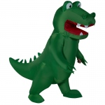 Inflatable Alligator Child Costume: Green, One-Size, Everyday, Unisex, Child