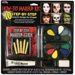 Fun World Deluxe Makeup and Booklet Kit One-Size