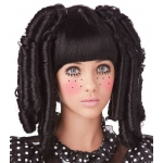 California Costumes Baby Doll Curls with Bangs Adult Wig One-Size