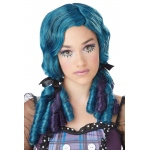 California Costumes Blue Doll Curls Adult Wig One-Size