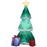 Airblown Christmas Tree with Presents: Green, Christmas, Unisex