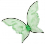 Fun World Hot Color Butterfly Wings - Green One-Size