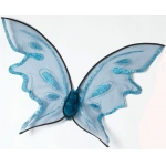 Fun World Hot Color Butterfly Wings - Blue One-Size