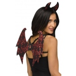 Fun World Devil/Lace Character Instant Kit One-Size