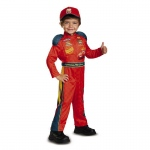Cars 3 - Lightning Mcqueen Classic Toddler Costume - 3T-4T