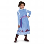 Anna Frozen Adventure Dress Deluxe Costume - Small