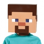 Disguise Minecraft - Steve Vacuform Child Mask One-Size