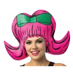 Cartoon Wig - Boufant Pink: One- Size, Everyday, Adult