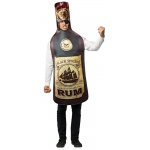 Get Real Rum Bottle Adult Costume: Standard, Everyday, Adult