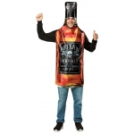 Get Real Whiskey Bottle Adult Costume: Standard, Everyday, Adult