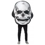 Giant Skull Costume for Adults: Standard, Everyday, Adult