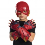 Rubie's Costumes Justice League Movie - Flash Gloves- Child One-Size