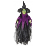 Sunstar Industries 3' Hanging Light up Witch