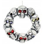 Sunstar Industries Skull Wreath with Lights