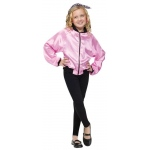 50's Ladies Child Jacket L: Pink, Large, Everyday, Female, Child