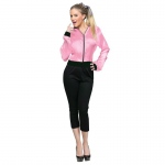 50's Ladies Adult Jacket S/M: Pink, Small/Medium, Everyday, Female, Adult