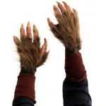 Zagone Faux Fur Covered Beast Hand Gloves One Size