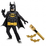 Batman Lego Movie Classic Child Costume Kit L: Large, Everyday, Male, Child