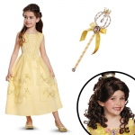 Disguise Belle Ball Gown Classic Toddler Costume Kit 3-4T