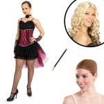 Can Can Adult Costume Kit L: Large, Everyday, Adult