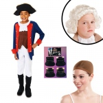 Patriot Soldier Boy Child Costume Kit L: Large, Everyday, Male, Child