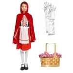 Red Riding Hood Classic Child Costume Kit L: Large, Everyday, Female, Child