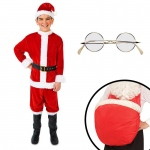 Santa Suit Child Costume Kit L: Large, Everyday, Male, Child