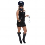 Adult Female Police Kit: Multi-colored, Everyday, Female, Adult