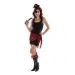 Female Adult Pirate Kit: Multi-colored, Everyday, Female, Adult