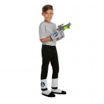 Children's Space Gloves, Boot Covers and Gun Set: Multi-colored, Everyday, Unisex, Child