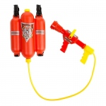 Firefighter Squirt Gun Pack: Red, Everyday, Unisex, Child