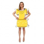 Advanced Graphics Beauty Yellow Dress Paper Doll Costume One-Size