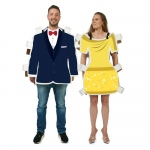 Advanced Graphics Royal Dress and Suit Paper Doll Couples Kit One-Size