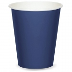 9 oz. Cups - Navy  (24): Birthday