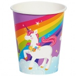 Fairytale Unicorn Party 9oz Paper Cup (16): Birthday