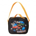 BuySeasons Monster Jam Canvas Lunch Tote