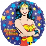 Wonder Women Foil Balloon: Multi-colored, Everyday