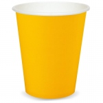 9 oz. Cups - Yellow  (24): Birthday