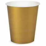 9 oz. Cups - Gold  (24): Birthday
