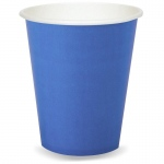 9 oz. Cups - Cobalt  (24): Birthday