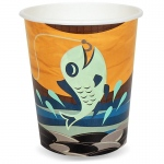 Let's Go Camping 9 oz. Paper Cups (16): Birthday