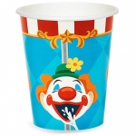 Carnival Games 9 oz. Paper Cups (24): Birthday