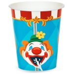 Carnival Games 9 oz. Paper Cups (48): Birthday