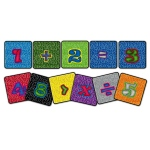 "Flagship Carpets Mathematic Squares: 16"" x 16"", Set of 16"