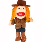 Sunny Toys Cowgirl: 14""