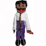 Sunny Toys Boy in White & Purple: Ethnic, 28""