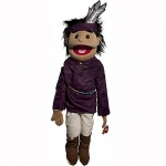 Sunny Toys Boy with Feather: Native American, 28""
