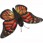 Sunny Toys Butterfly: Monarch, Caterpillar, 12""